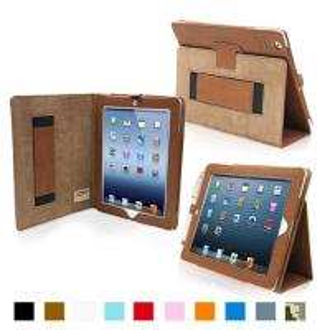 iPad 4 & iPad 3 Case - PU Leather Case Cover