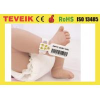 China Medical Rfid Wristband For Baby Identification with factory price for large order on sale