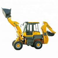 China Stable Running Small Backhoe Loader 1.6 Ton With 1600kg Operating Weight on sale