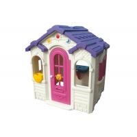 China Children Loving Plastic Toy House Galvanized Pipe Material CE Certificate on sale
