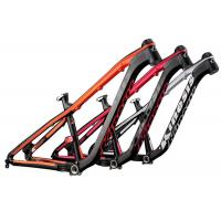 Black / Orange Mtb Mountain Bike Frame Aluminum Alloy Hardtail AM Riding Style Manufactures