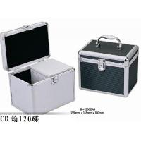 Lightweight Silver CD And DVD Storage Cases CD Storage Boxes For Home Manufactures