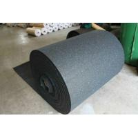 Wear Resistant Rubber Flooring Sheet Roll Width 15-60mm For Tennis Court Manufactures