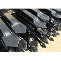Stain Black Powder INTERPO High Security Fence Panel 2100mm*2400mm Manufactures