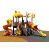 CE Certificate Childrens Plastic Playground , Advanced Kids Plastic Slide for sale