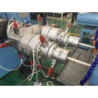 Double Electrical Threading PVC Pipe Production Line 16 - 40mm Pipe Dia Manufactures