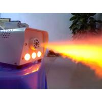 Remote Control 400W Mini Fog Machine With 3*1W LED Single R/G/B/W/Y LED For Option  X-025 Manufactures