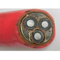 China 3x185mm2 pvc cable 3 core XLPE insulated PVC outer jacket power cable on sale