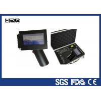 Automatic Handheld Inkjet Coder 600dpi Date Coding Machine For Bottle / Box Manufactures