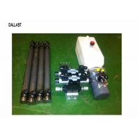 Hydraulic Power Pack Work with Double Acting Cylinder Remote Control 220 Voltage Manufactures