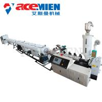 PVC Plastic Pipe Extrusion Line Double Screw Weight 2-20 T High Efficiency Manufactures