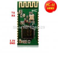 China HC-02 serial to Bluetooth module, the slave module for wireless data transmission on sale