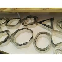 Multi - Shaped  Cake Ring Molds , Christmas Stainless Steel Cake Mould Manufactures