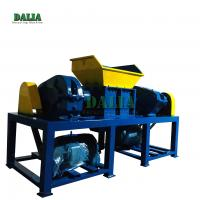 High Output Plastic Scrap Crusher Machine Double Shaft Design 12 Months Warranty Manufactures