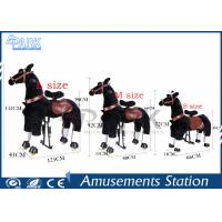 China Amusement Park Kiddy Ride Machine Lovely Kids Horse Ride With Variety Design on sale
