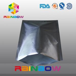 Aluminum Foil Vacuum  Bags , Textured Food Embossed Vacuum Sealer Bag Manufactures