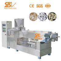 Stainless Steel Artificial Rice Production Line Extruded Rice Making Machine Manufactures