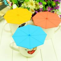 China umbrella shape silicone cup cover,protective cover case for cup on sale