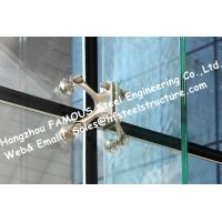 Point Fixed Glass System Curtain Walls Cable Tensioned Façade Supporting Starglass System Manufactures