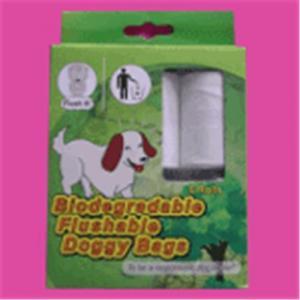 China Flushable and Biodegradable Dog Waste Bag on sale