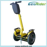 City Model Yellow Balance Electric Scooter / 2 Wheel Electric Standing Scooter 2000W 72V Manufactures