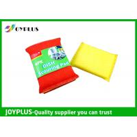 JOYPLUS Disposable Dish Washing Pad , Nylon Cleaning Pad High Absorbent Manufactures