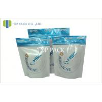 Small Foil Packaging Bags With Zipper For Food , Aluminum Foil Printed Bags Manufactures