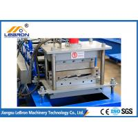 Quality 80mm Shaft Glazed Tile Roll Forming Machine 15 Roller Stations Long Time Service for sale