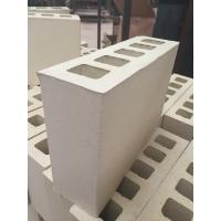 China Cream Yellow Five Holes Large Hollow Blocks , Hollow Clay Brick Compressive Strength on sale