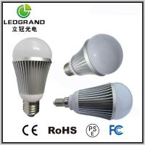 110mm 5 * 1W Glass LED Ball Bulbs LG-QP-1005D Manufactures
