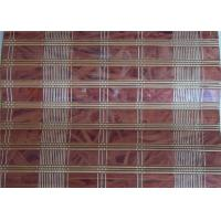 China Industrial Printed Bamboo Blinds , Bamboo Roll Up Curtains Office Use on sale