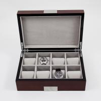 China Safety Japanese Automatic Motor High Glossy Wooden Watch Winder on sale