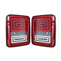 ABS Material Car Turn Signal Lights / Jeep Wrangler Tail Lights With USA And Euro Plug Manufactures