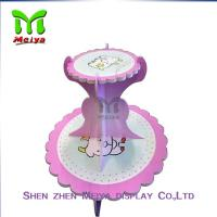Tree Tire  Round Cardboard cupcake display stands / holders Manufactures