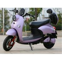 Aluminium Rim 1000w Electric Moped Bike 45km/H For Beach / Farm Manufactures