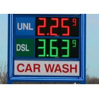 DIP546 18 Led Gas Station Signs , led price display with Auto - dimming Manufactures