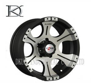China Light Replica Vossen 1 Piece Forged Wheels Reduce Tire Wear Black Truck Wheels on sale