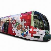 Glossy White PVC Sticker, Ideal for Bus Wrapping, Vehicle Wraps, with Solvent Print Media Manufactures