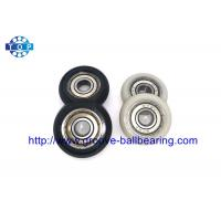 China Nylon Plastic Embedded 608 608ZZ Carbon Steel Ball Bearing For Guide Pulley on sale