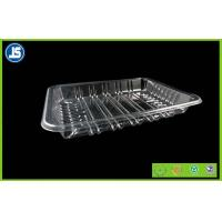 Biodegradable Clear Plastic Food Packaging Trays With Compartments Manufactures