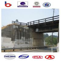 Prefabricated Steel Girder Bridge Concrete Deck For Temporary Manufactures