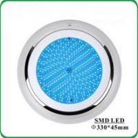 IP68 Wall Mounted Extra Flat Resin Filled Led Underwater Light for Swimming Pool Manufactures