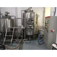 Polished Alcohol Making Machine , Energy Saving Electric Beer Brewing System Manufactures