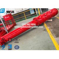 Big Flow 4 Stage Vertical Shaft Turbine Fire Pump , 4500 Usgpm Deep Well Pump Manufactures