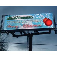 Quality Aluminum or Iron Electronic Outdoor Energy Saving 30% Led Billboard Advertising P10 1R1G1B for sale