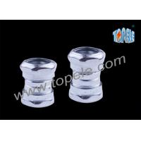 Steel compression couplings EMT Conduit And Fittings male female pipe fittings Manufactures