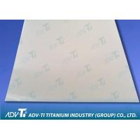 ASTM B265 Titanium Sheet Metal Plate GR5 Hot Rolled For Industry Manufactures