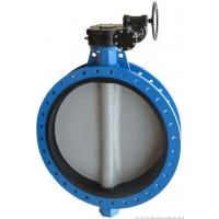 Carbon Steel Eccentric Butterfly Valve Concentric Construction High Performance Manufactures