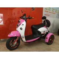Electric Tricycle Scooter With 800W Brushless Powered Tricycles For Adults Lead Acid Manufactures