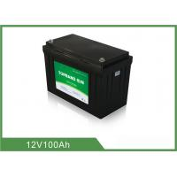 China Wireless Floor Scrubber Battery 12V 100Ah OEM / ODM Available on sale
